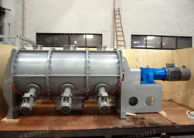 China Easy To Control Plough Shear Mixer / Ribbon Blender For Powder Mixing supplier