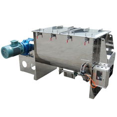 China High Output Powder Ribbon Blender For Powder / Granule Mixing Big Size supplier