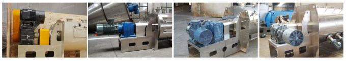 Horizontal High Speed Powder Mixer For Construction / Insulation Material