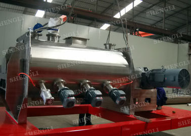China High Speed Powder Ploughshear Mixer , Putty Mixing Machine For Dry Ingredient distributor