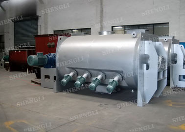 China Jacketed Type Horizontal Mixer Machine For Cold Water Circulation distributor