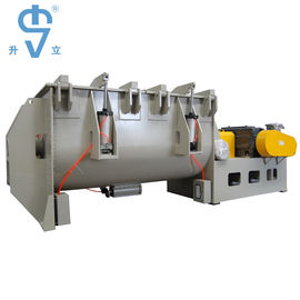 China Mild Steel Powder Ribbon Blender 2000L Large Capacity For Fertilizer Mixing factory