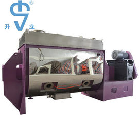 China 15kw Power Fertilizer Powder Ribbon Blender 2000L With Large Capacity distributor