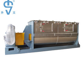 China 220V / 380V 1500L High Efficiency Ribbon Blender For Detergent / Animal Feed Powder factory