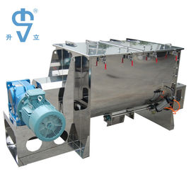 China Stainless Steel Horizontal 1000L Ribbon Blender For Flour Powder factory