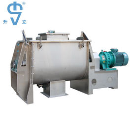 China Carbon Steel 2000L Mixing Equipment Ribbon Screw Blender For Dry Powder factory